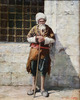 """Simon AGOPIAN - Painting - """"BAGGER IN ISTANBUL"""""""