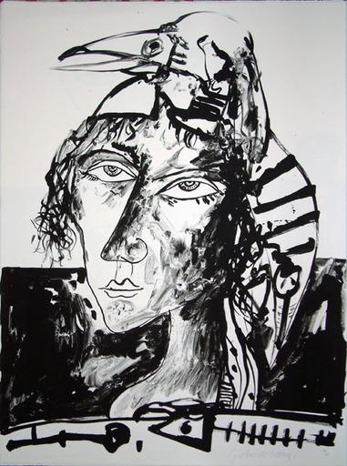 John BELLANY - Druckgrafik-Multiple - Call of the Sea 1 - Sea Witch