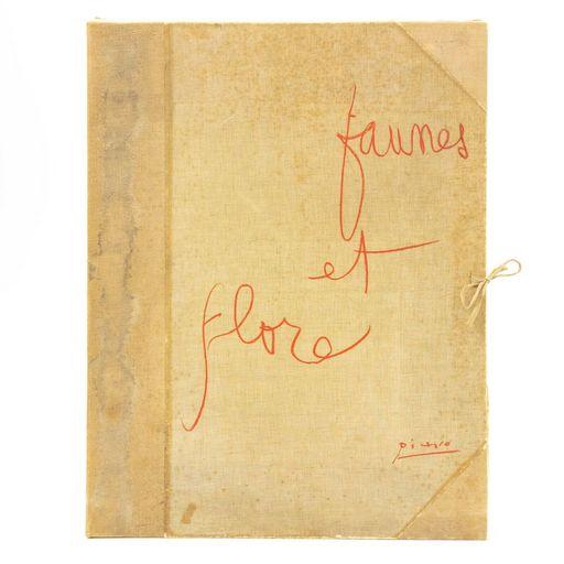 "Pablo PICASSO - Stampa-Multiplo - ""Faunes et Flore d'Antibes"""