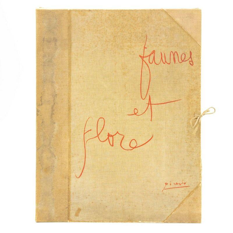 """Pablo PICASSO - Print-Multiple - """"Faunes et Flore d'Antibes"""""""