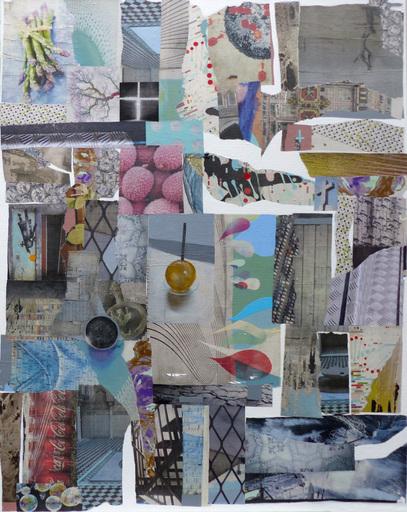 Christine GROSARU-BLETON - Pintura - Collages 1
