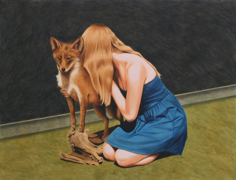Erlend STEINER LOVISA - Painting - Marilena 2 (Huli jing)    (Cat N° 5651)