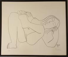 巴勃罗•毕加索 - 版画 - EROTIQUE