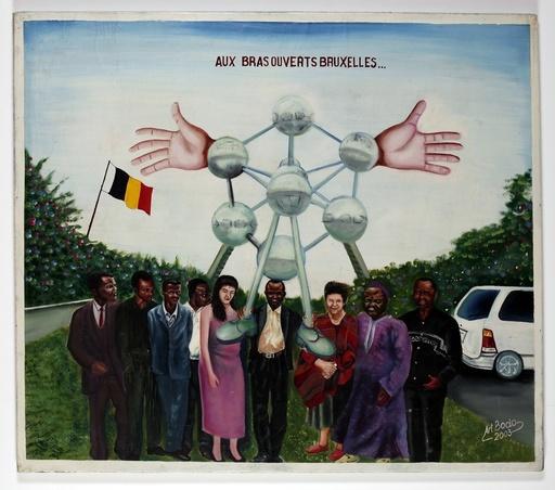 BODO - Pintura - Aux bras ouverts de Bruxelles