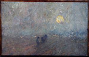 """Aloïs LAET DE - Painting - """"LABOURS"""""""
