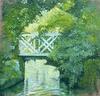 Carlos ESTEBAN (1938) - Petit pont vert