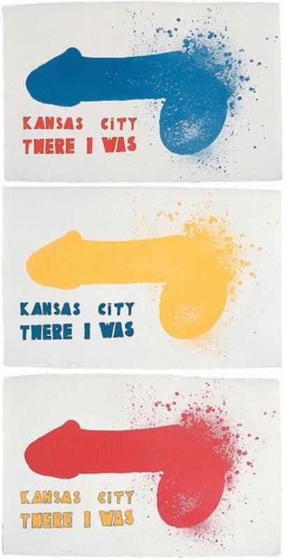 Jim DINE - Print-Multiple - Kansas City (3 sheets)