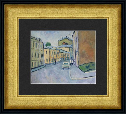 Valeriy NESTEROV - Peinture - Malaya Ordinka Street. Moscow