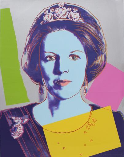Andy WARHOL - Print-Multiple - Queen Beatrix (Royal Edition) (FS II.340A)