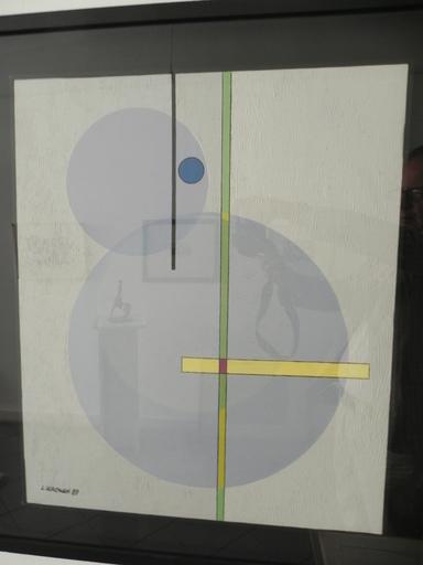 "Luigi VERONESI - Pintura - ""Costruzione"" K 517"
