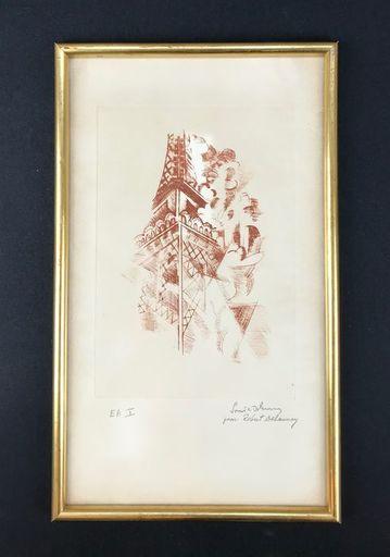 Sonia DELAUNAY - Print-Multiple - TOUR EIFFEL