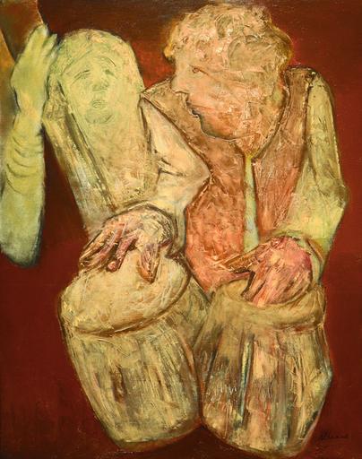 Krishen KHANNA - Pintura - Untitled