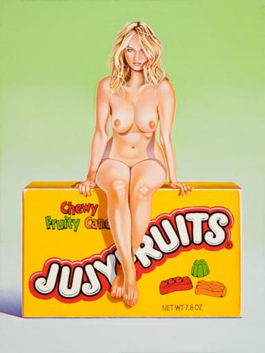 Mel RAMOS - Druckgrafik-Multiple - Jujyfruits Judy