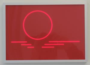 Hellmut BRUCH - Painting - Ein Kreis, 2 Progressionen