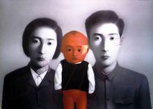 张晓刚 - 版画 - Big Family A