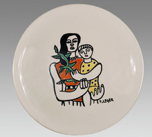 Fernand LÉGER - Ceramic - Motherhood