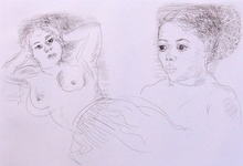Raoul DUFY - Estampe-Multiple - Two Antillean Women