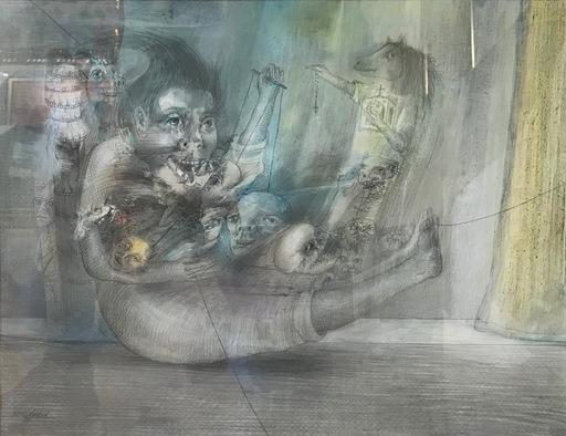 Manuel AYASO - Dessin-Aquarelle - SEGUNDO ACTO