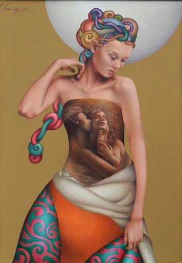 Fabio CARMIGNANI - Gemälde - Abbraccio