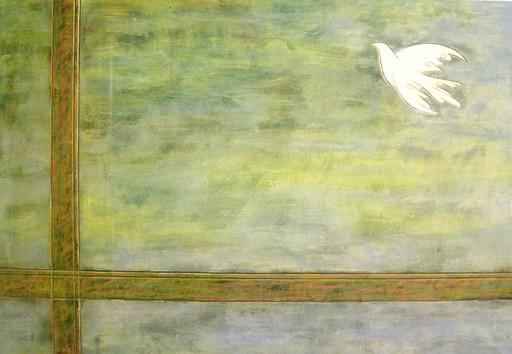 Franco CECCHINI - Pintura - Un volo oltre