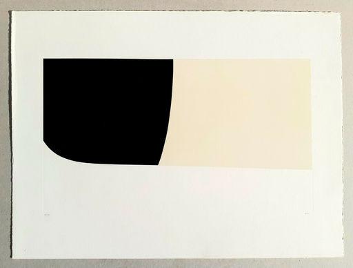 """Alberto BURRI - Print-Multiple - Bianchi e neri II"""" (tav.2)"""