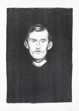 Edvard MUNCH - Print-Multiple - Self-Portrait