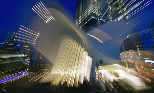"Bruno PAGET - Photo - NYC ""WTC Transporter Hub"""