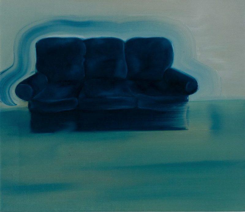 Martin AITKEN - Painting - « Sans-titre (couch) »