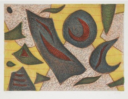 Henri GOETZ - Estampe-Multiple - Composition