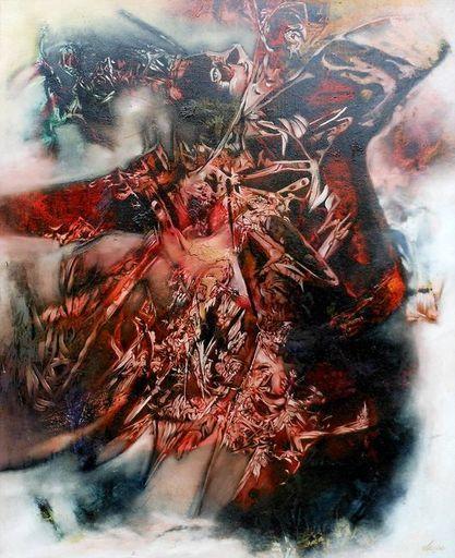 Lou FLORIAN - Painting - HUSSARD