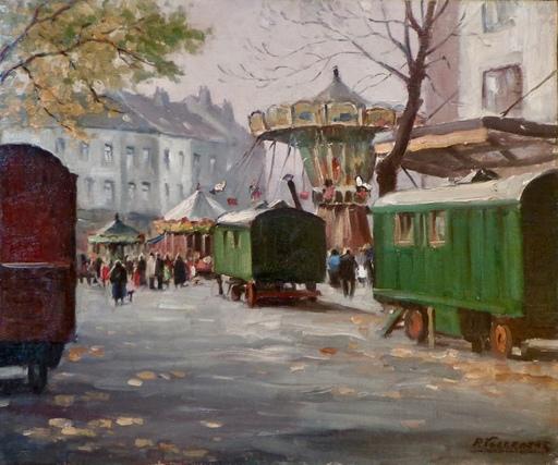 Piet VOLCKAERT - Peinture - KERMESSE A UCCLE