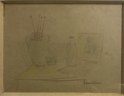 Pio SEMEGHINI - Painting - Natura morta