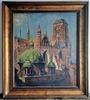 Theodor URTNOWSKI - Painting - Marienkirche und Königliche Kapelle in Danzig