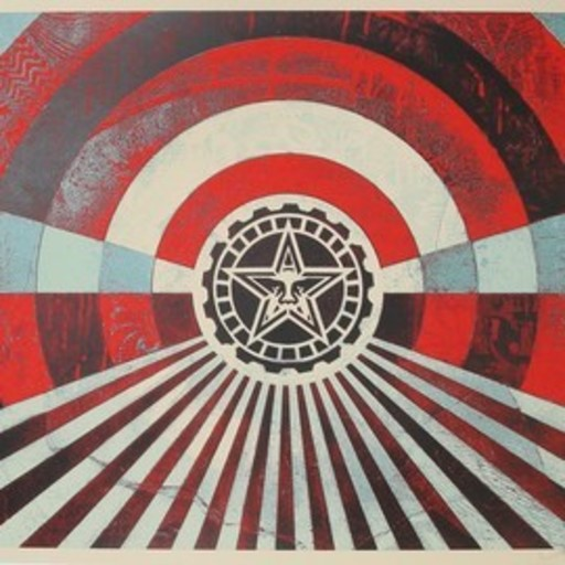 Shepard FAIREY - Druckgrafik-Multiple - Tunnel vision
