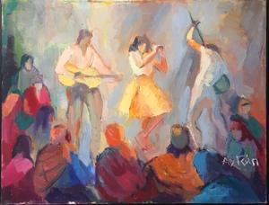 Marie ASTOIN - Peinture - La danse