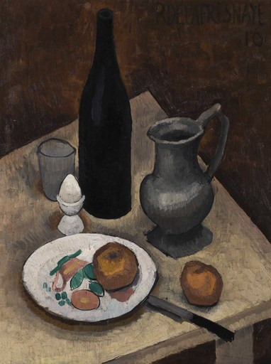 Roger DE LA FRESNAYE - 绘画 - Nature morte à l'oeuf