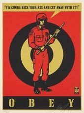 Shepard FAIREY - Estampe-Multiple - Riot Cop