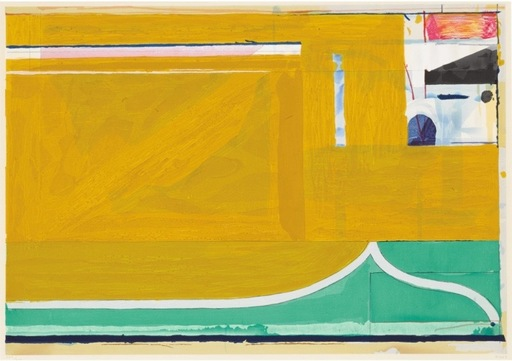 Richard DIEBENKORN - Druckgrafik-Multiple - Ochre
