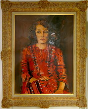 Carlos PRADAL - Pittura - Portrait de femme