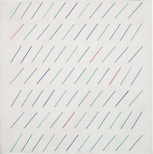Mario NIGRO - Peinture - Così
