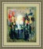 Levan URUSHADZE - Gemälde - Afternoon cityscape