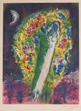 Marc CHAGALL - Print-Multiple - Par dans les mimosas