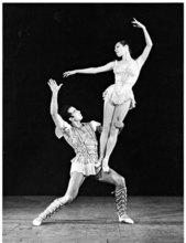 Serge LIDO - Photo - Harkness Ballet Nicolas Lolajenko Marjorie Tallchief