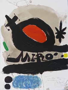 Joan MIRO, The Solar Bird, the Lunar Bird, Sparks