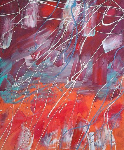 Marie Edmée SEGUIN - Painting - La Nuit des Temps n°39