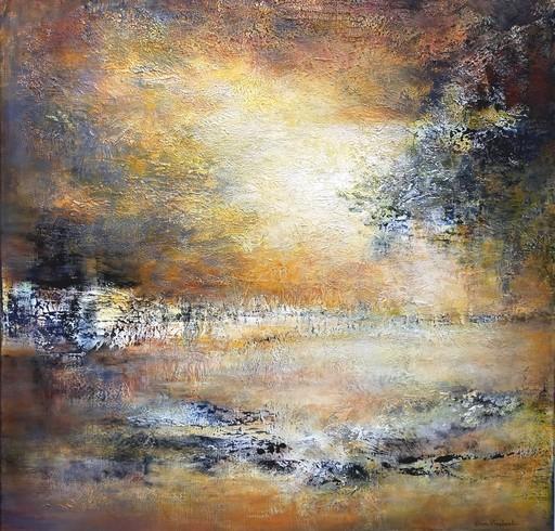 Emmanuelle VROELANT - Painting - Accalmie