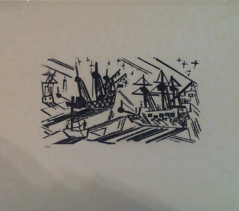 Lyonel FEININGER - Print-Multiple - SCHIFFE UND STERNE