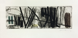 "Hans HARTUNG - Estampe-Multiple - ""3"""