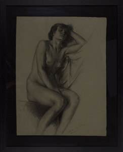 Filadelfo SIMI - Zeichnung Aquarell - Senza titolo