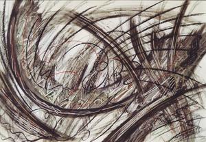 Didier ANGELS - Dibujo Acuarela - Tourbillon de la vie n°8